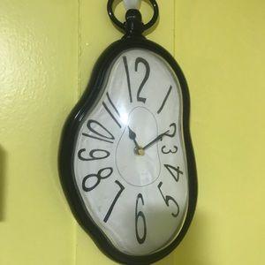 Dali Inspired Wall Clock